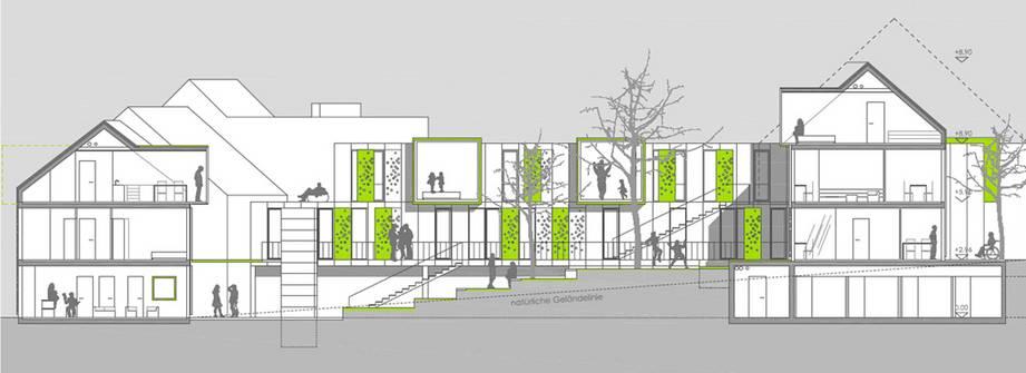 """""""Mut zur Lücke""""   Architekturwettbewerb (Bild 3/5)"""