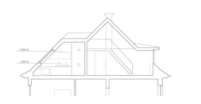 """""""Dachausbau""""   Umbau und Sanierung Zweifamilienhaus (Bild 6/8)"""