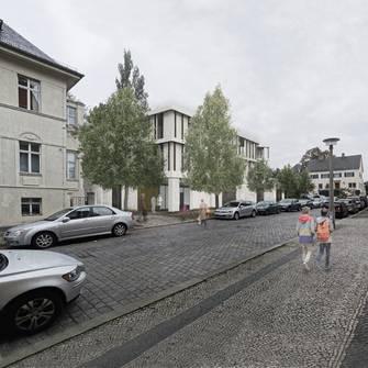 """Dialog"" | Wohnkomplex mit Praxen - Neubau"