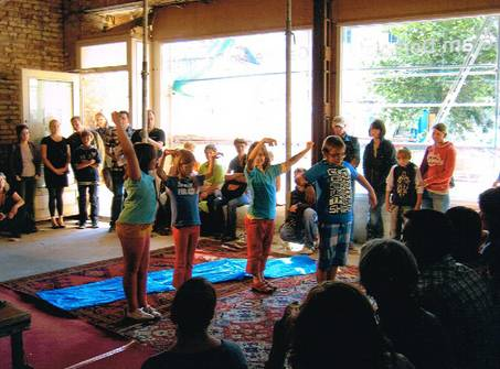 Kinderkunstforum 2012 | Domplatz 6 in Halle (Bild 3/3)
