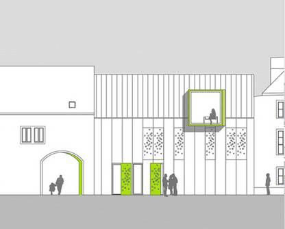 """""""Mut zur Lücke""""   Architekturwettbewerb (Bild 1/5)"""