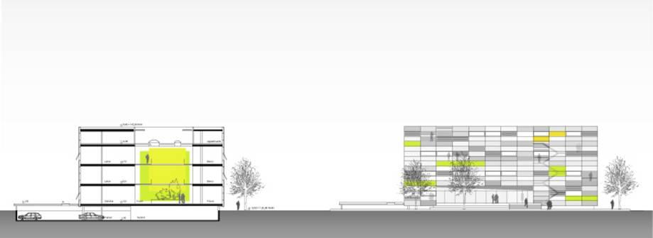 """Insel""   Labor- Institutsgebäude - Neubauplanung (Bild 3/4)"