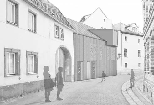 """""""Mut zur Lücke""""   Architekturwettbewerb (Bild 5/5)"""