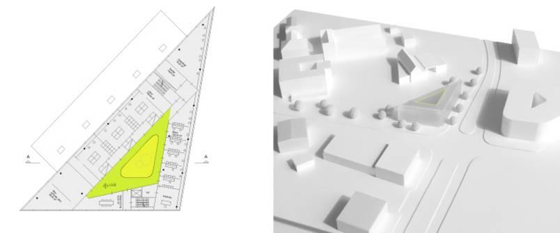 """Insel""   Labor- Institutsgebäude - Neubauplanung (Bild 2/4)"