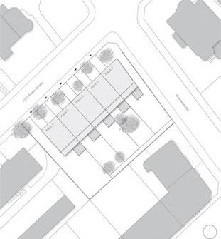 """Fünf"" | Stadthäuser - Neubau (Bild 2/7)"