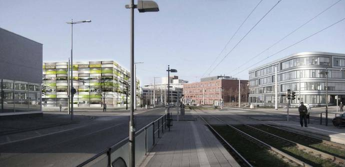 """Insel"" | Labor- Institutsgebäude - Neubauplanung (Bild 1/4)"