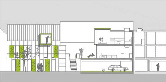 """""""Mut zur Lücke""""   Architekturwettbewerb (Bild 4/5)"""