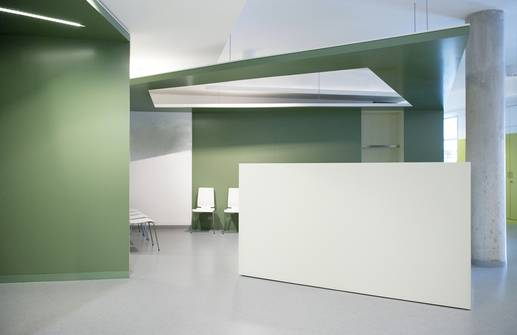 """Saaleklinik I""   Chirurgische Praxis - Innenraumplanung"